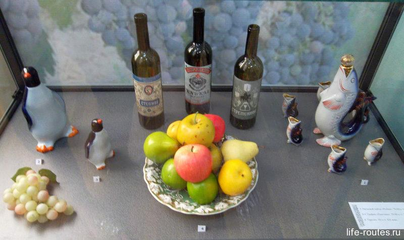 Выставка донских вин в Азовском музее