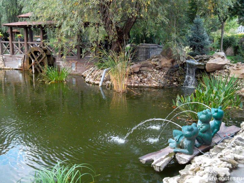 А вот и сказочное озеро черепахи Торлиллы