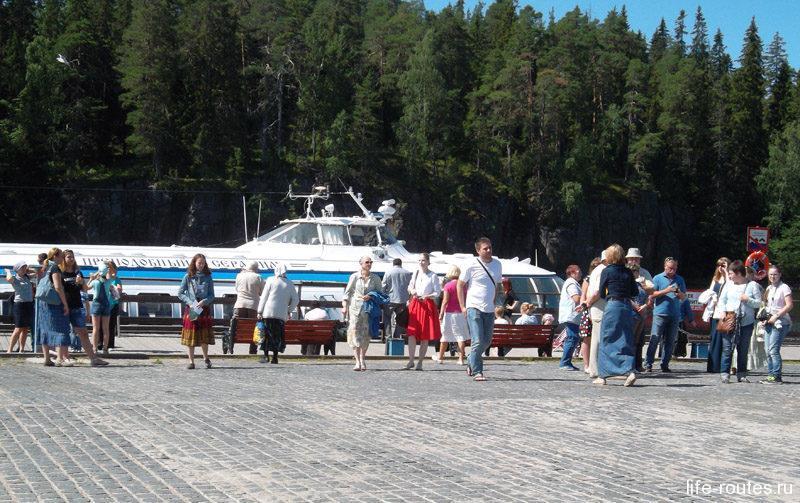 Монастырская бухта на острове Валаам