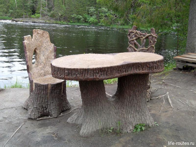 Сказочные столики и стулья