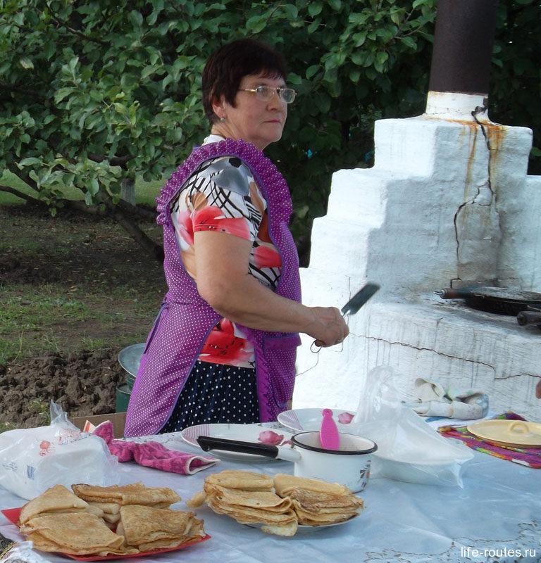 ... блины с русской печки и другие блюда казачьей кухни