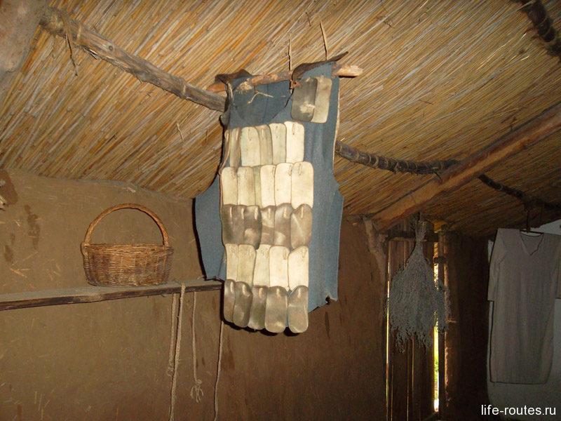 Кожаные латы защищали воина от острых стрел