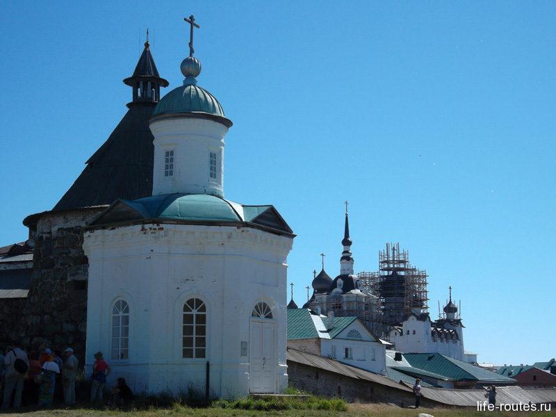 Соловецкий кремль является объектом Всемирного наследия ЮНЕСКО