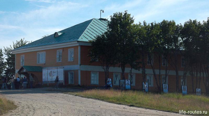 Заказать экскурсию можно в Соловецком центре гостеприимства