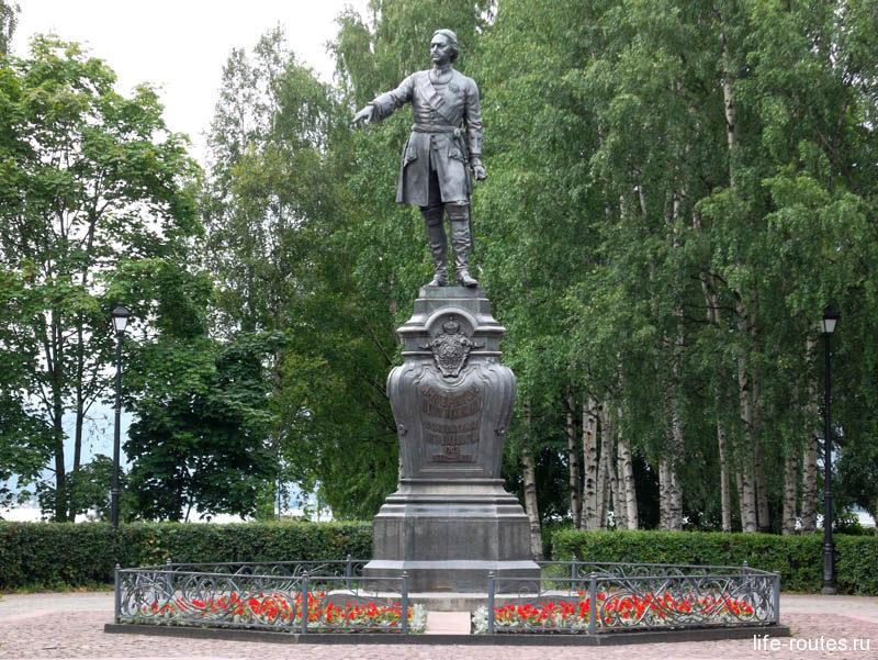 Петрозаводск - город Петра I