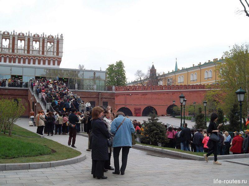 Очередь в Кремль