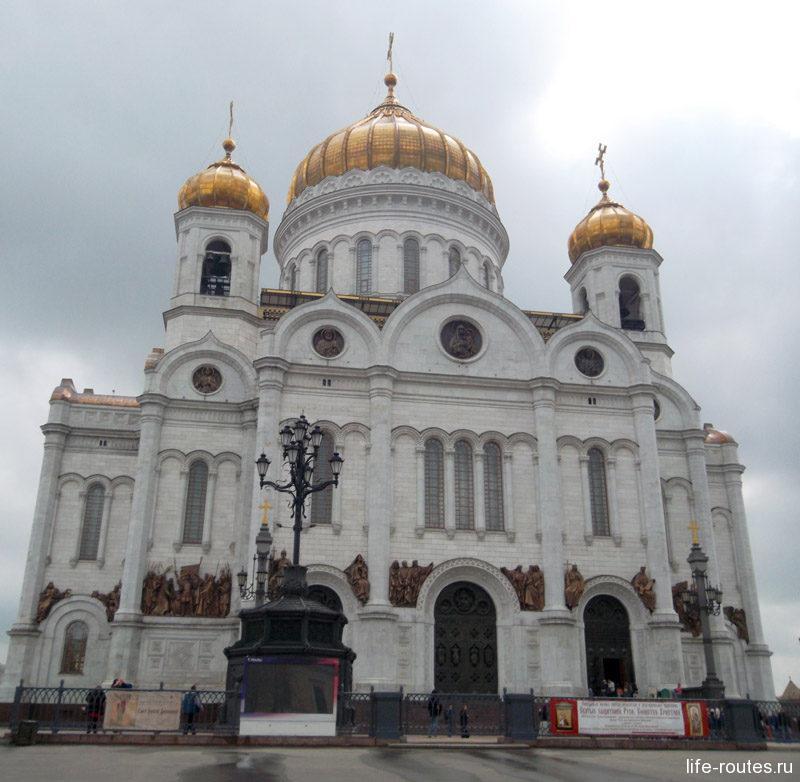 Храм Христа Спасителя - главный собор Русской православной церкви