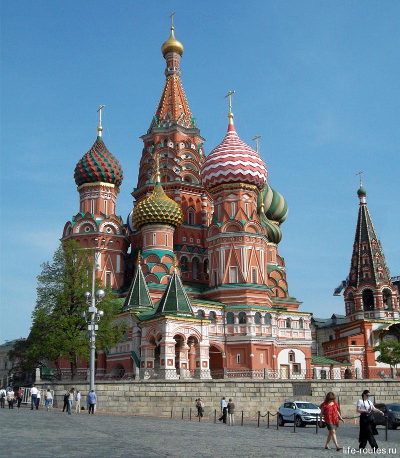 Собор Василия Блаженного - главное украшение Красной площади