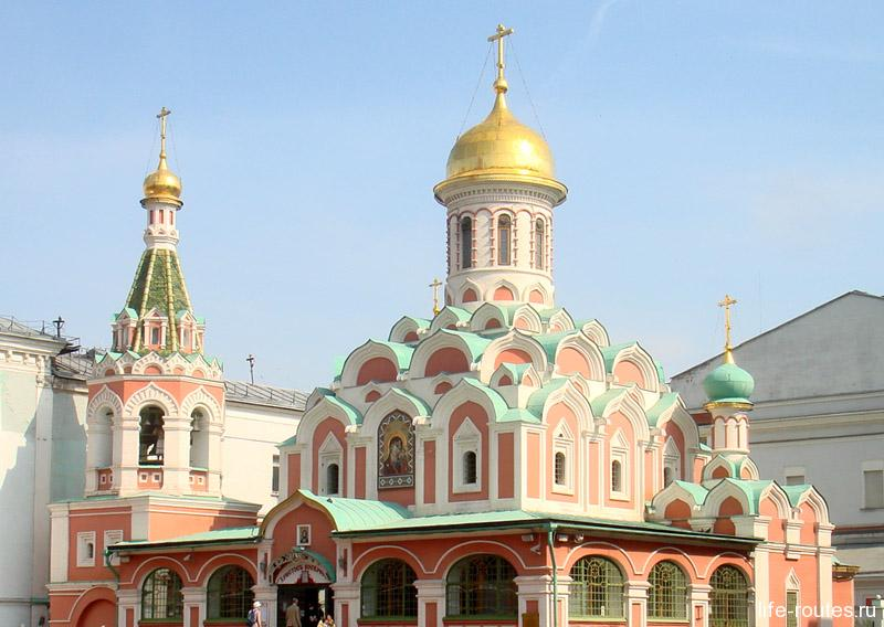Казанский собор восстановлен в его историческом обличии