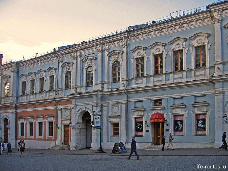 Бывший дом губернского правления Москвы