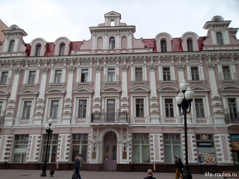 Большинство домов на Арбате были доходными, квартиры в которых сдавались в аренду