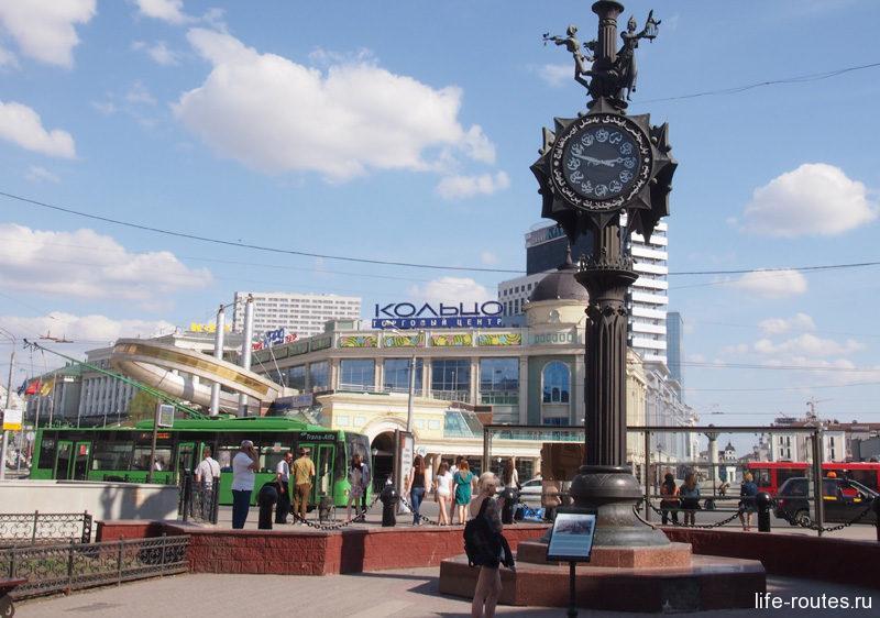 Площадь Тукая в народе получила название Кольцо