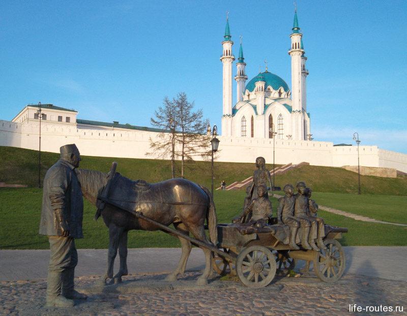 В образе Асгата Гилимзянова запечатлен труд казанских меценатов