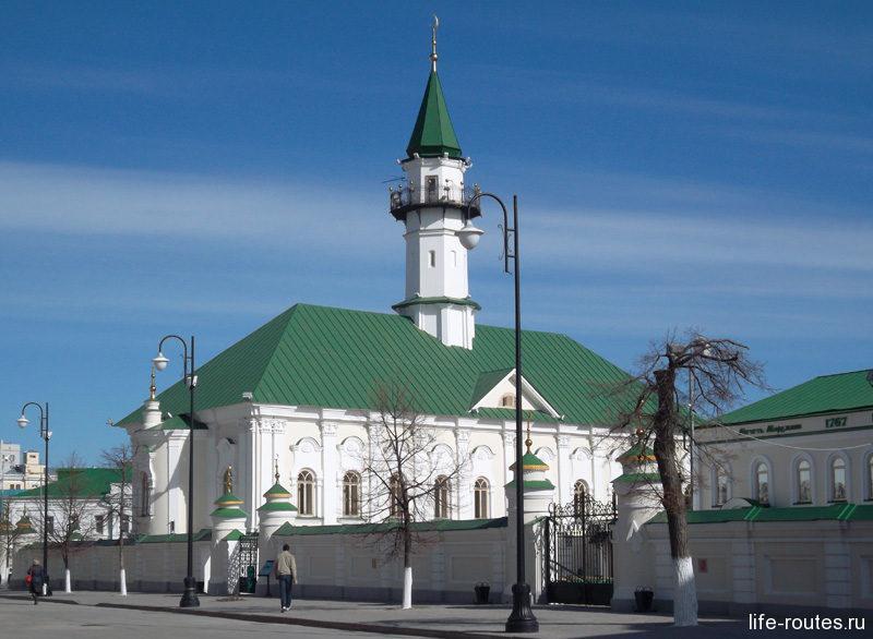 Аль-Марджани - самая ранняя казанская мечеть, дошедшая до наших дней