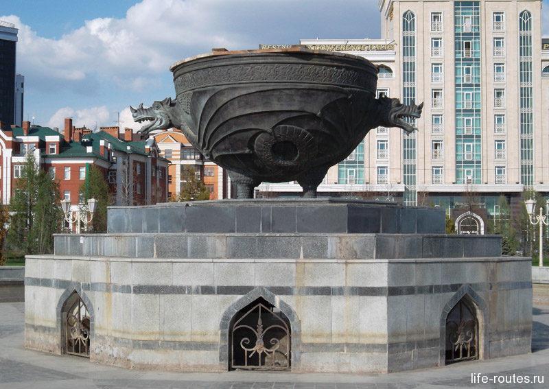 """Как гласит татарская легенда: """"Быть городу там, где вода в котле закипит без огня..."""""""