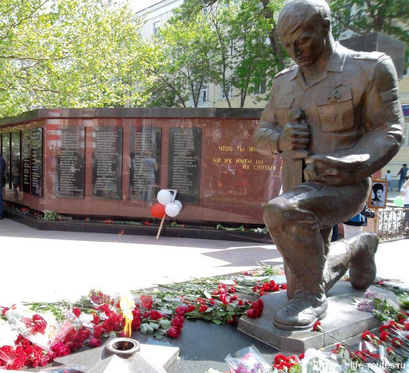 Памятник сотрудникам внутренних органов, павшим при исполнении служебного долга
