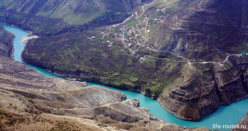 Это фото, найденное на просторах Интернета, и вдохновило меня на поездку в Дагестан