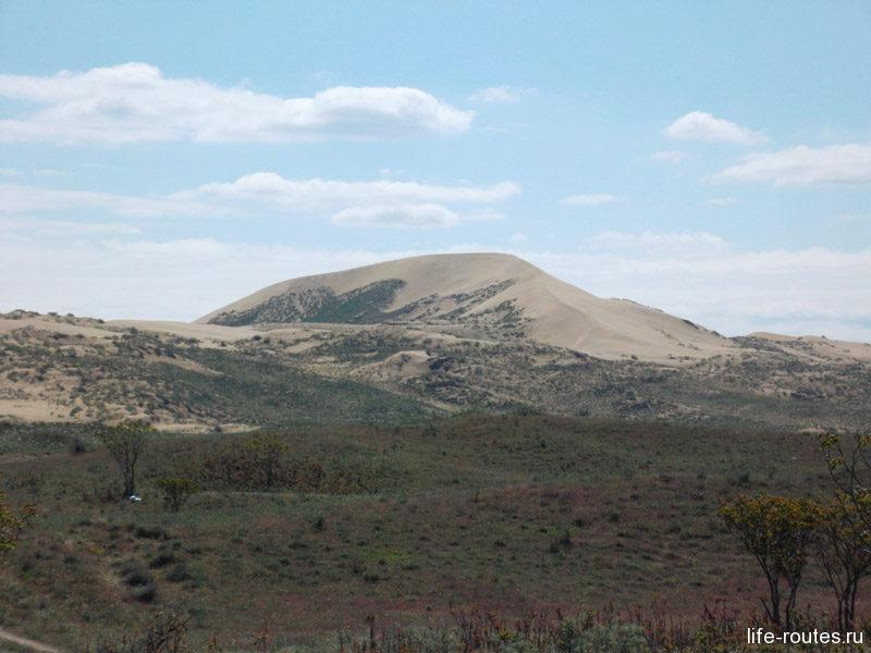 Бархан Сарыкум - кусочек пустыни среди Кавказских гор