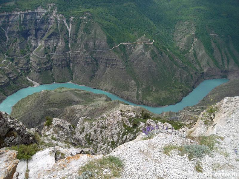 Река Сулак и никакого фотошопа