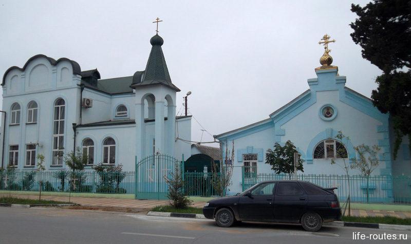 Единственный православный храм города Дербента посвящен празднику Покрова Пресвятой Богородицы