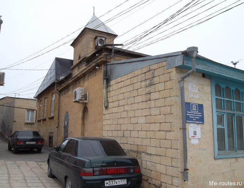 Килиса-мечеть какое-то время служила православным храмом для русского гарнизона