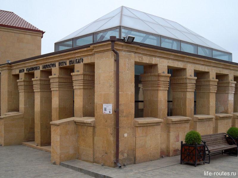 Музей на месте домика Петра I