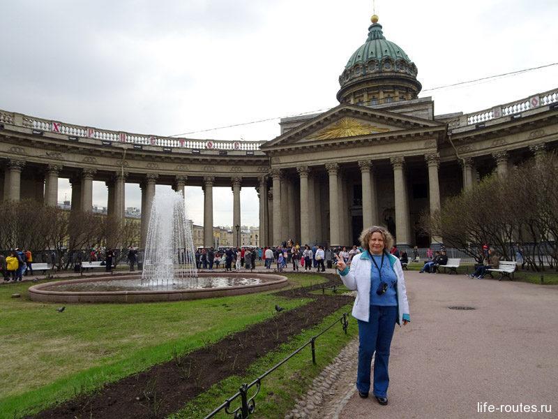 Казанский собор - одна из главных достопримечательностей Невского проспекта